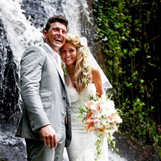 Evie & Danny (Waterfall)