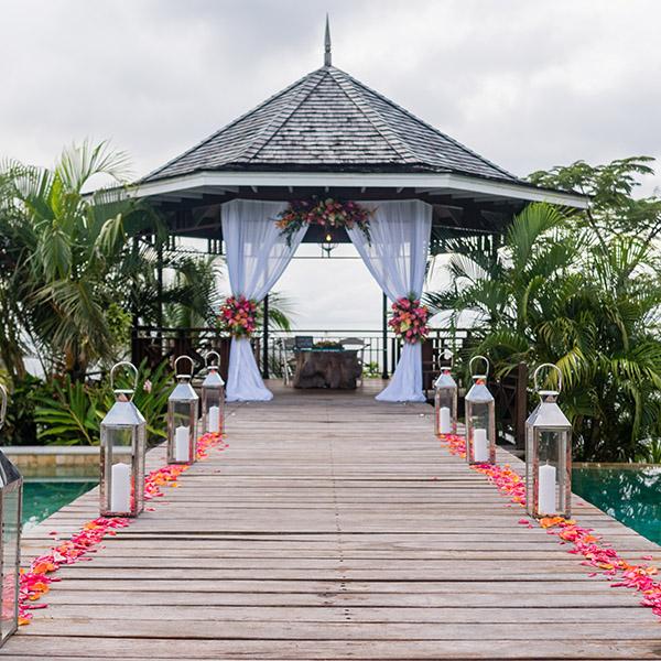 St Lucia Wedding Venues - Villa Susanna